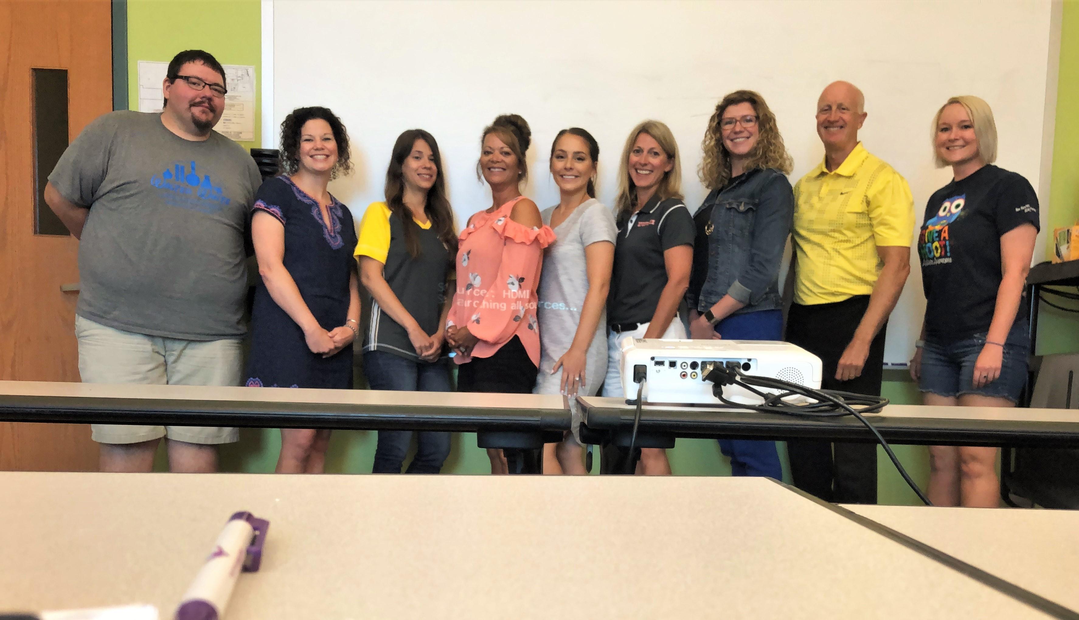 Educators with Program Leaders
