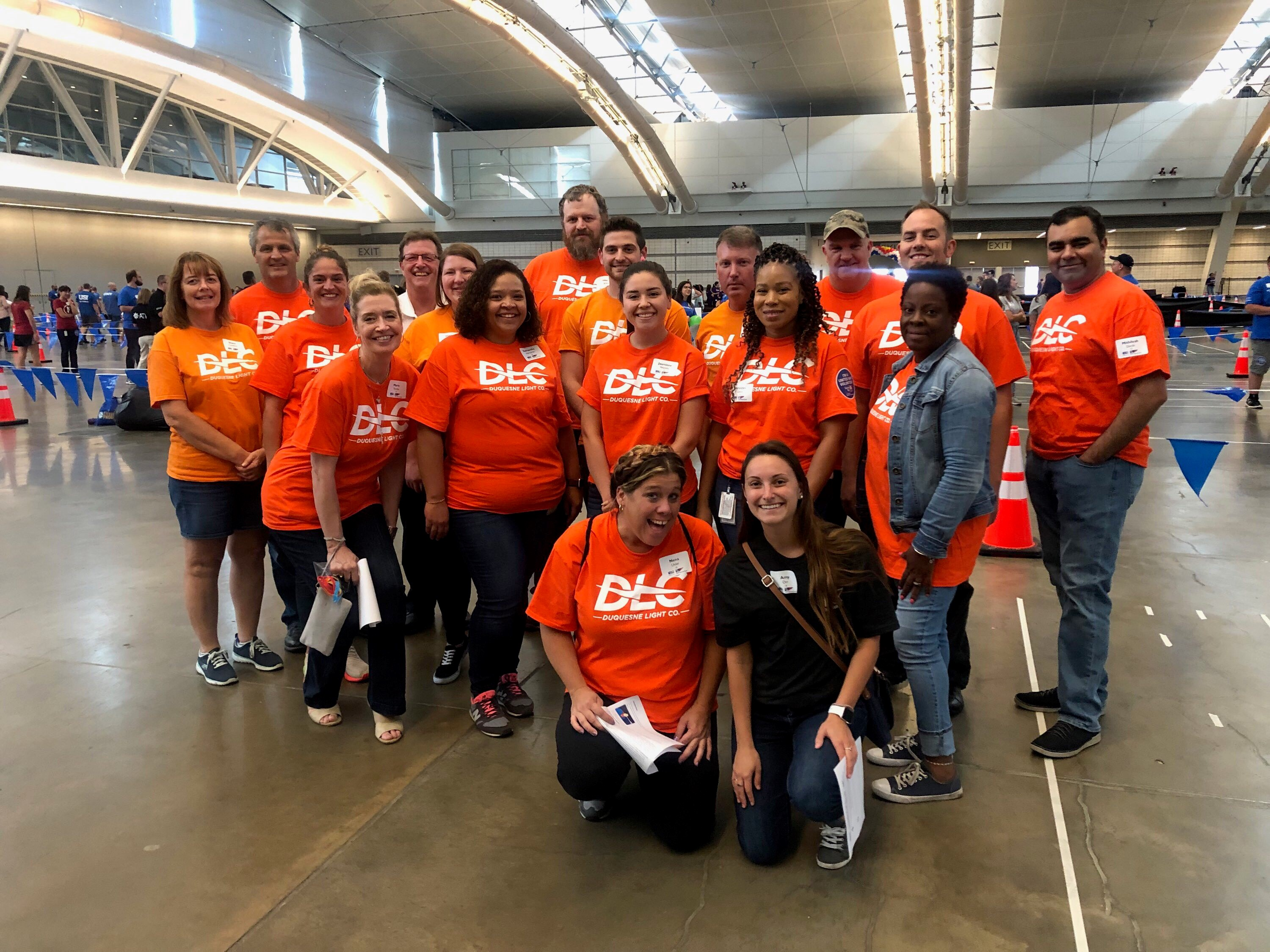DLC Employee Volunteers at Games for Good